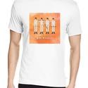 Mechanikus Narancs póló, Pixel art póló, Egyedi póló, Férfiaknak, Táska, Divat & Szépség, Urban pólók, Ruha, divat, Férfi ruha, Női ruha, Póló, felsőrész, Fotó, grafika, rajz, illusztráció, Stanley Kubrick 1971-es kultfilmje: Mechanikus Narancs. A letisztult, általam tervezett pixel art m..., Meska