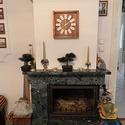 Domino falióra., Otthon, lakberendezés, Dekoráció, Falióra, óra, Dominós óra  A falióra mérete 28 cm -es, de kérhető nagyobb kivitelben is ( a képen is 30 cm-es vált..., Meska
