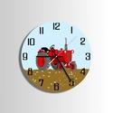 Falióra - öreg traktor, Dekoráció, Otthon, lakberendezés, Falióra, óra, Munkagép - traktor. Minden bizonnyal egy kisfiú fog ennek az órának legjobban örülni. - Saját tervez..., Meska