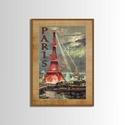 Táblakép - falikép - Párizs, Otthon, lakberendezés, Falikép, Mindenmás, Fotó, grafika, rajz, illusztráció, Mdf  fára digitálisan nyomtatott kompozíció.  Párizsi látkép az Eiffel toronnyal. Ideális dísze leh..., Meska