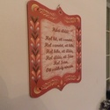 Házi áldáa, Házi áldás. Klasszikus, letisztult forma.  Két...