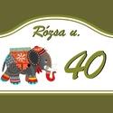 Elefántos házszámtábla, elefántos házszámtábla:  Egyedi kérésre kés...