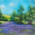 A tavasz illatát viszi a szél - akrilfestmény, Képzőművészet, Festmény, Akril, 30 x 40 centis akrilfestmény faroston, keret nélkül. Egy kellemes tavaszi délutánt ábrázol a kép kin..., Meska