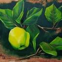 Birs - olajfestmény, Képzőművészet, Festmény, Olajfestmény, 30 x 40 centis olajfestmény feszített vásznon, keret nélkül. Plein air módon készített kép. Ez a fes..., Meska
