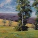 Tavaszi pillanat - olajfestmény, Képzőművészet, Festmény, Olajfestmény, 25 x 43 centis olajfestmény vásznon, keret nélkül. Egy kortárs amerikai festő képe alapján készült. ..., Meska