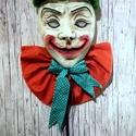 Joker gipsz maszk dekoráció , Dekoráció, Férfiaknak, Otthon, lakberendezés, Legénylakás, Jack Nicholson által alakított  JOKER ihlette gipsz maszk. A maszkból EGYETLEN EGY darab készül..., Meska