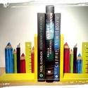 Firkászvilág - könyvtámasz a kis Olvasóknak :), Dekoráció, Baba-mama-gyerek, Dísz, Gyerekszoba, Napjainkban a technika egyre többet bombázza az olvasókat e-könyvekkel...ezek praktikussága nem..., Meska