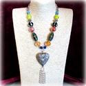 -40%! Velencei menüett - nyaklánc AKCIÓ!, Az antik, veretes medált egy régiségkereskedés...