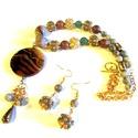 Gvendolin kövei - szett AKCIÓ!,  Csupa ásvány kő gyöngy, pasztell színekkel. ...