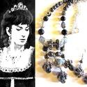 Maria Callas - szett AKCIÓ!, Ékszer, Ékszerszett, Nyaklánc,  Maria Callasról olvastam nemrég, nagyon szerette az egyedi készítésű, extravagáns ékszereket. :)  A..., Meska