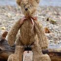 Teddy Mackó, Baba-mama-gyerek, Játék, Plüssállat, rongyjáték, Mackóm a hagyományos Teddyre hasonlító kedves, ölelgetnivaló figura. Végtagjai mozgathatóak...., Meska