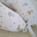 baba-mama párna (állatos), Baba-mama-gyerek, Baba-mama kellék, Párna, Varrás, Patchwork, foltvarrás, Kényelem a babának és a mamának. A terhesség utolsó hónapjaiban megkönnyíti a mama pihenését, a bab..., Meska