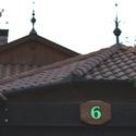 tábla 3, Otthon, lakberendezés, Mindenmás, Utcatábla, névtábla, Famegmunkálás, Sötétben világító fa házszámtábla dióból, egy számjeggyel, kültéri, időjárásnak ellenálló olajjal k..., Meska
