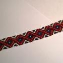 Végtelen mintájú karkötő, Ékszer, óra, Férfiaknak, Karkötő, Óra, ékszer, kiegészítő, Unisex, vikinges-indiános motívumokkal ellátott csomózott karkötő.  Hossza: 25 cm, Meska