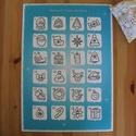 Adventi kalendárium kifestő, színező - figurás, A4-es méretű színezhető adventi kalendárium. ...