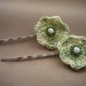 Virágos hullámcsat, üde zöld, Virágmániám tavasszal megállíthatatlan! Most ...