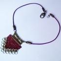 Chainmaille bőr nyaklánc (klarion) - Meska.hu