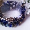 Lapis lazuli memória karkötő (klarion) - Meska.hu