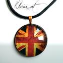 Union Jack nyaklánc (klarion) - Meska.hu