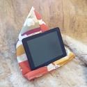 """Tablet tartó párna, Táska, Otthon, lakberendezés, Lakástextil, Párna, Tablet tartó párna. A képen egy 8 """" os tablet van szemléltetésként. (A tablet nem eladó). Nagyobb is..., Meska"""