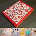 Állatos, filc csendes könyv, színes mintákkal babáknak, Baba-mama-gyerek, Játék, Gyerekszoba, Baba játék, Varrás, Patchwork, foltvarrás, Filcből és pamutvászonból készítettem ezt a babakönyvet. 6 darab színes állatot ábrázol, vidám hátt..., Meska