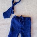 Kék nyakkendős szett (2 részes), Gyerek & játék, Táska, Divat & Szépség, Baba-mama kellék, Gyerekruha, Ruha, divat, Kék nadrág nyakkendővel (0-2 hó).  Termékeim mindegyike kézzel készült és  mindegyikbe igyekszem bel..., Meska