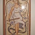 Jusztícia mozaik kép, Képzőművészet, Otthon, lakberendezés, Kerti dísz, Saját rajz alapján készített egyedi mozaik kép márvány és féldrágakő felhasználasával. ..., Meska