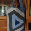Bevásárló táska amely...., Táska, Szatyor, Megmenti a világot a nylon zacskóktól...  Használj te is öko táskát... ami mindig kéznél va..., Meska