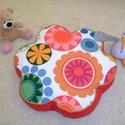 Virág padlópárna gyerekeknek és tiniknek, Virág alakú babzsák padlópárna gyerekeknek é...