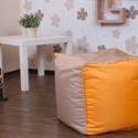 Kocka alakú babzsák puff felnőtteknek, kültéri és beltéri babzsák puff, Bútor, Otthon, lakberendezés, Babzsák, Szék, fotel, Kültéren és beltéren egyaránt használható babzsák puff felnőtteknek.  A bútor anyaga kelle..., Meska