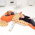 Egon - óriás babzsák padlópárna gyerekeknek