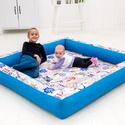 Óriás játszószőnyeg babáknak, Baba-mama-gyerek, Baba-mama kellék, Az óriás játszószőnyeg kialakítása miatt rendkívül kényelmes és tágas teret ad a baba mozgásához, eg..., Meska