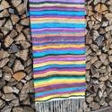 Rongyszőnyeg, Rongyszőnyeg: újrahasznosított pamut alapanyagb...