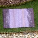 Levendula - Nagyon vastag, meleg és puha ványolt gyapjú szőnyeg , A levendula kékes-lilás gyönyörű árnyalataib...