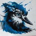 Kék madár.Bíró Richárd modern alkotása