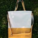 Női táska cordura/textillbőr anyagból