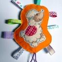 Szalagos baba játék - kutyás , Játék, Baba játék, Filc és pamut textil anyagból aprólékos munkával kézzel készült ez az édes babajáték, melyet szalago..., Meska