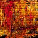 Csak szavak..., Képzőművészet, Festmény, Olajfestmény, Közvetlen a művésztől !  Meditatív  festmény gyönyörű színekkel, egyedi stílussal. 70x50 ..., Meska