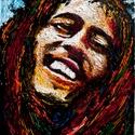Jesus Marley, Képzőművészet, Festmény, Olajfestmény, Közvetlen a művésztől !  Olajfestmény feszített festővászon alapon.  50x70 cm Vastagon felho..., Meska