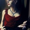 Emma olajfestmény, Képzőművészet, Dekoráció, Festmény, Olajfestmény, Festészet, Emma című festményem Emma Watsonról 2009-ben készült, 70cm*100cm vászonra, olajjal. , Meska