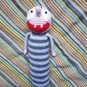 Kufli Fityirc, Játék, Baba-mama-gyerek, Játékfigura, Plüssállat, rongyjáték, Az új kedvenc mesénk egyik főszereplője, a kiváló Fityirc, 30 cm. Bababarát fonalból készü..., Meska
