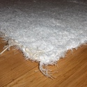 Hosszú szőrű fehér szőnyeg. Luxus kivitel! Osztrák anyag., Otthon, lakberendezés, Lakástextil, Falvédő, Szövés, Hosszú szőrű fehér szőnyeg. Kivételes, egyedi darab.  Megfelelően tömörített, sűrű szövésű anyag. M..., Meska