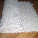 Új puha szőrű pamut falvédő. Török pamut. , Otthon, lakberendezés, Lakástextil, Szőnyeg, 100% pamut puha szőrű pamut falvédő. Kivételes, egyedi darab.  Megfelelően tömörített, sűr..., Meska