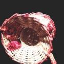 ANNácska Koszorús Kislány Kosár, Otthon, lakberendezés, Tárolóeszköz, Kosár, Papírművészet, Fonás (csuhé, gyékény, stb.), A képen egy tárolókosár, díszkosár látható. ANNácska fantázianevet kapta. A termék megrendelésre ké..., Meska