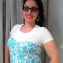kismama / molett  ruha, Ruha, divat, cipő, Női ruha, Ruha, Kismamaruha, Varrás, Világoskék mintás kismama ruha.  38, 40, 42-es méret.  Különleges  szív alakú eleje megoldással. .A..., Meska