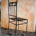 2. szék, Bútor, Szék, fotel, Kovácsoltvas, Tudom kishazánkban nagy teret hódítottak a műanyag székek (gondolom az áruk miatt) , na de egyezzün..., Meska