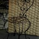 szék03 , Bútor, Szék, fotel, Kovácsoltvas, kovácsoltvas szék. felületkezelt, többféle színben rendelhető. kinti-benti használatra.Egy csomagba..., Meska