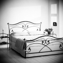 180x200 kovácsoltvas ágy keret, Bútor, Ágy, Fémmegmunkálás, Kovácsoltvas,   Miért is jó a kovácsoltvas ágy?  1. A vas mint tudjuk szinte örök dolog .Nem nyekereg, nem mozog,..., Meska