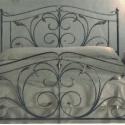 160x200 kovácsoltvas ágy keret, Bútor, Ágy, Fémmegmunkálás,  Miért is jó a kovácsoltvas ágy?  1. A vas mint tudjuk szinte örök dolog .Nem nyekereg, nem mozog, ..., Meska