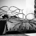 160x200 kovácsoltvas ágy keret, Bútor, Ágy, Fémmegmunkálás,   Miért is jó a kovácsoltvas ágy?  1. A vas mint tudjuk szinte örök dolog .Nem nyekereg, nem mozog,..., Meska